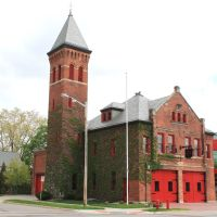 Old Fire Station Historic Structure, (1898), 102 West Cross Street, Ypsilanti, Michigan, Ипсиланти