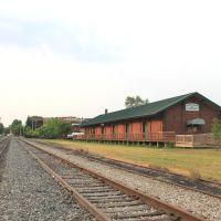 Ypsilanti Michigan Rail Depot and Freighthouse, Depot Town, Ипсиланти