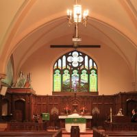 Emmanuel Lutheran Church Sanctuary, (1926), Ypsilanti, Michigan, Ипсиланти