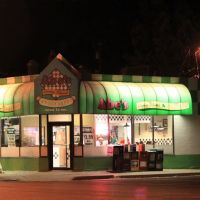 Abes Coney Island at Night, 402 West Michigan Avenue, Ypsilanti, Michigan, Ипсиланти