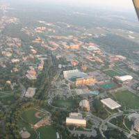 MSU Campus from 3000 feet, Ист-Лансинг
