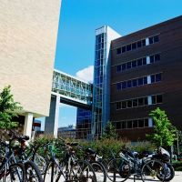 Biomedical and Physical Sciences Building on the campus of Michigan State University East Lansing Michigan USA, Ист-Лансинг