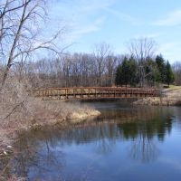 Spring view of Spring Valley Park, Kalamazoo, MI, Иствуд