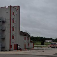 Burn tower for firefighters training. Kalamazoo, MI, Иствуд