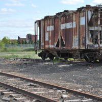 Old train car, Кадиллак
