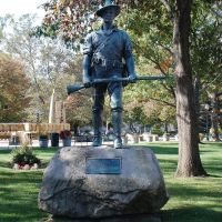 Civil War Memorial Statue, Kalamazoo, MI., Каламазу