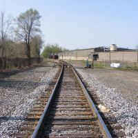 LS&MS / Norfolk Southern looking North at Gibson Street, Каламазу