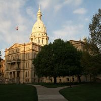Michigan State Capitol, Lansing, Michigan, Лансинг