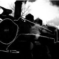 Christmas Train, Huckleberry Railroad, Flint, MI, Маунт-Моррис