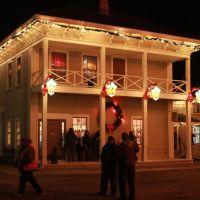 Christmas at Crossroads Village, Flint, MI December 2009, Old Attica Hotel, Маунт-Моррис