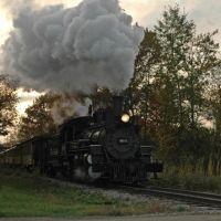 Huckleberry Railroad, Маунт-Моррис