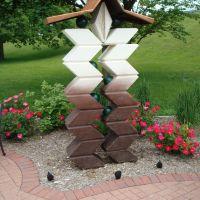 Downtown Block Sculpture, Мидланд
