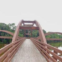 The Tridge - 3-Way Bridge, Midland Michigan, Мидланд