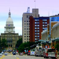 Michigan State Capitol, Lansing, Монтроз