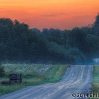 Eitzen Road at Dawn, Мускегон-Хейгтс