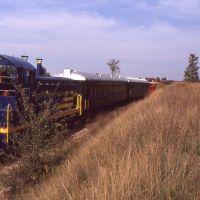 LSRR Train Pausing 1990, Мускегон-Хейгтс