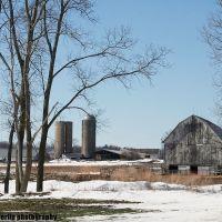 Barns at Polk and Union Rds., Норт Мускегон