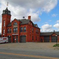 Fire Station, Ithaca, MI, October 2011, Норт Мускегон