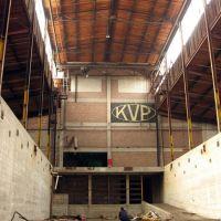 KVPC acid storage room(?), Парчмент