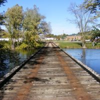 Former CK&S ROW Bridge over the Kalamazoo River view from the South, Parchment, MI, Парчмент