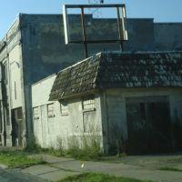 empty building, Понтиак
