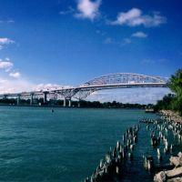 St. Clair River & Blue Water Bridges, Порт-Гурон