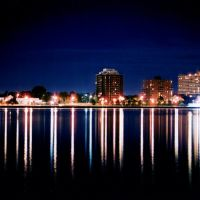 Downtown Sarnia @ Night, Порт-Гурон