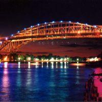 Blue Water Bridges @ Night, Порт-Гурон