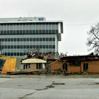 Fire damage / Ausmasse des Hurricanes: Vom Feuer zerstoert, Порт-Гурон