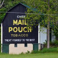 Mail Pouch Barn, Портаг