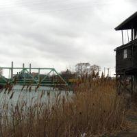 swing bridge to Zug Island, Ривер-Руж
