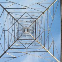 Blue pylon in Detroit, Ривер-Руж