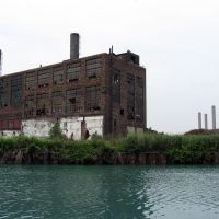 Scott Paper Co. powerhouse (last blg standing), Ривер-Руж