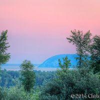 Carp River Point Before Dawn, Сагинав