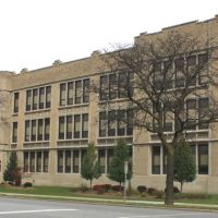 Theodore Roosevelt High School, 1923, 540 Eureka Road, Wyandotte, Michigan, Саутгейт