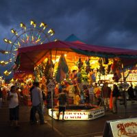 Cherry Festival 08, Midway; Prize Tent, Траверс-Сити