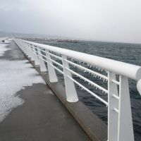 Grand Traverse Bay Walk Way, Early Winter, Траверс-Сити