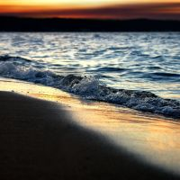 Grand Traverse Bay Sunset, Траверс-Сити
