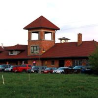 Former PM train station, Traverse City, Michigan, May 2013, Траверс-Сити