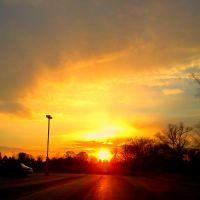 Beautiful Sunset At The Skate Park, Трой