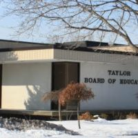 Taylor Board of Education Building, 23022 Northline Road, Taylor, Michigan, Тэйлор