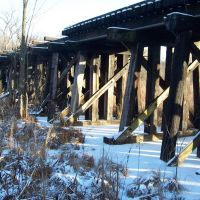 Abandoned Train Truss (winter), Уитмор-Лейк