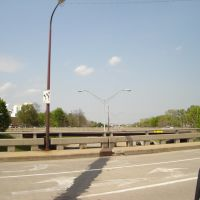 eastbound Robert T. Longway Boulevard bridge over I-475, Флинт