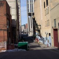 Brush Alley, downtown Flint, Флинт