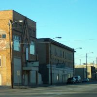 Buildings near N Saginaw & Louisa St. Flint, MI, Флинт