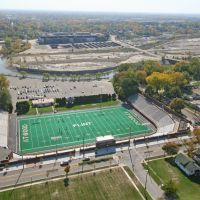 Atwood Stadium from Helicopter, Флинт