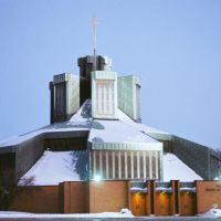 Our Lady Queen of Peace Catholic Church Harper Woods Michigan USA, Харпер-Вудс