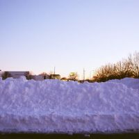 Parking lot at Our Lady Queen of Peace Harper Woods Michigan USA, Харпер-Вудс
