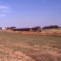 Leelanau Scenic Railroad 1990 Southbound, Хиллсдал