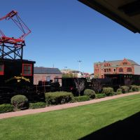 Matériel de lAnaconda Copper Mining Co. conservé en souvenir des mineurs, Анаконда